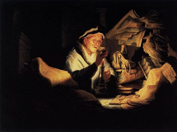 image of The Parable of the Rich Fool, Rembrandt