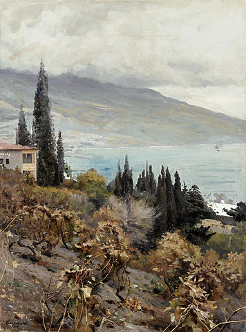 Image - vineyard in autumn