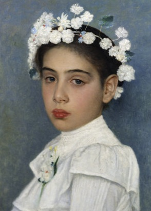 Image - portrait of young girl