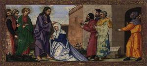 Image - illustration of Luke 13:10-17