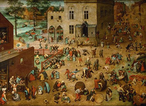 Image - Pieter Bruegel the Elder Children's Games