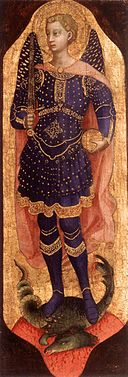 Image of the Archangel Michael by Fra Angelico