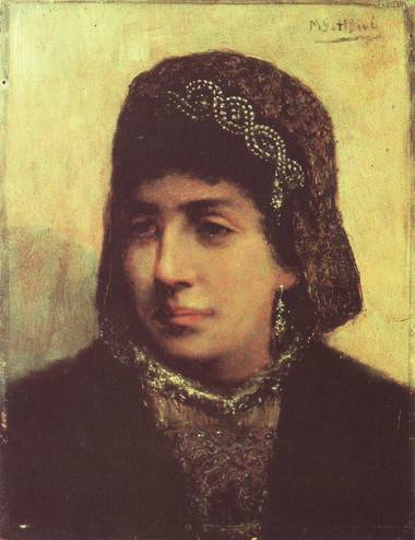 Image - painting of Jewish bride by Gottlieb