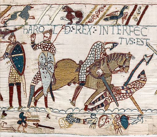 Image Harald in Bayeux tapestry
