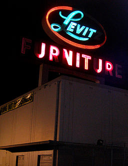 Image neon sign