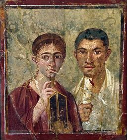 Image Pompeiian couple