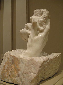 Image Rodin sculpture Hand of God