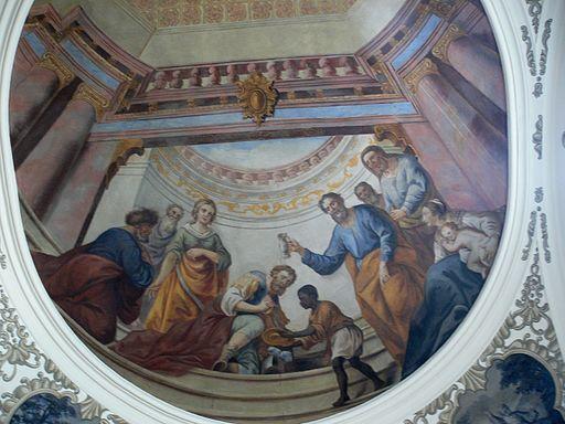 Image baptism of Cornelius