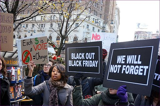 Image Black Lives Matter Black Friday 2014