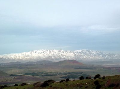 Image Mt. Hermon with snow