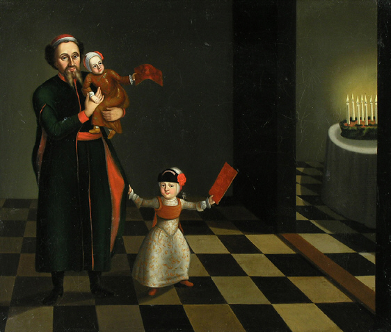 Image Hanukkah celebration 18th c