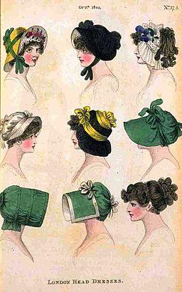 Image - bonnets 1802