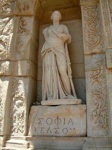 Image - statue of Wisdom ancient Ephesus