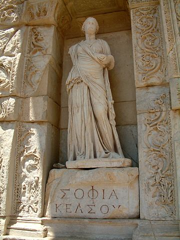 Image - statue of Wisdom ancient Ephesus
