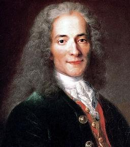 Image - portrait of Voltaire