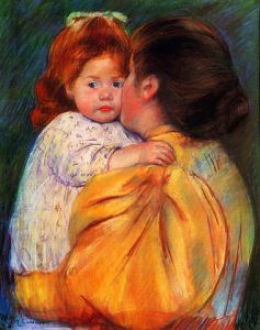 Image - work by Mary Cassatt