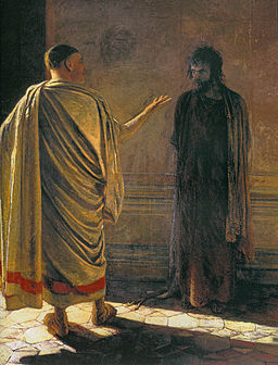 Image Jesus before Pilate