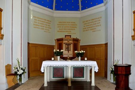 Image Brandenburg chancel with inscription