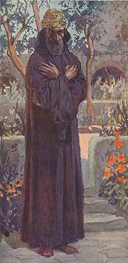 Prophet Joel watercolor