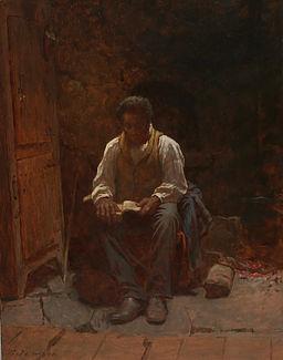 Eastman Johnson The Lord is My Shepherd