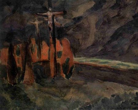 painting 1912 Crucifixion