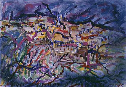 Miriam Neiger painting of Jerusalem
