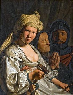 painting of Jael, Deborah and Barak