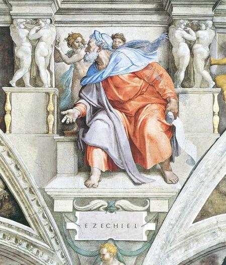 Michelangelo's Ezekiel