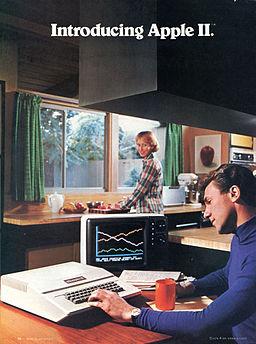 Apple II ad 1977