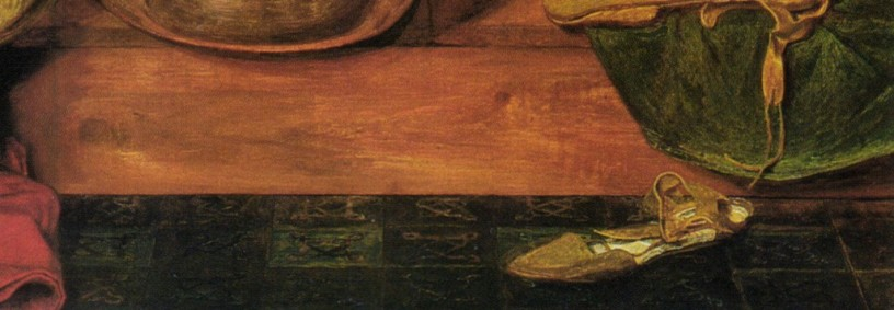 Jesus washes Peter's feet (detail) - Ford Madox Brown