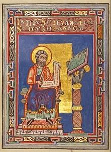 Saint John the Evangelist illumination