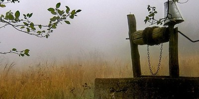 a well in a Serbian field