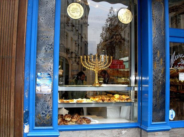 Pletzl_rue_des_Rosiers_Boulangerie_Juive_Vitrine