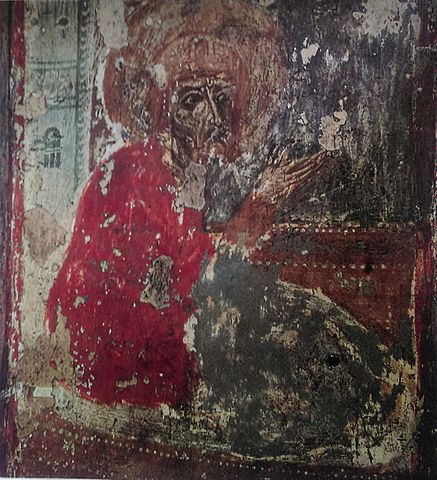 St. Basil the Great, fresco