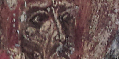 features of the face of St. Basil