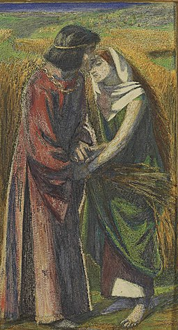Dante Gabriel Rossetti's Ruth and Boaz