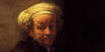 head of a man in a turban, turned toward the viewer