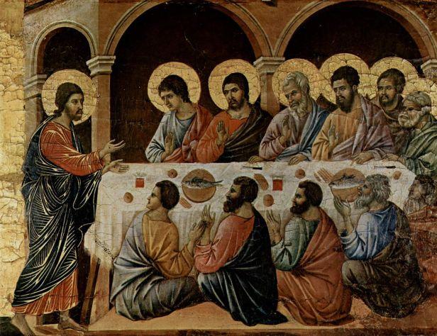 Duccio_di_Buoninsegna Resurrection Appearance