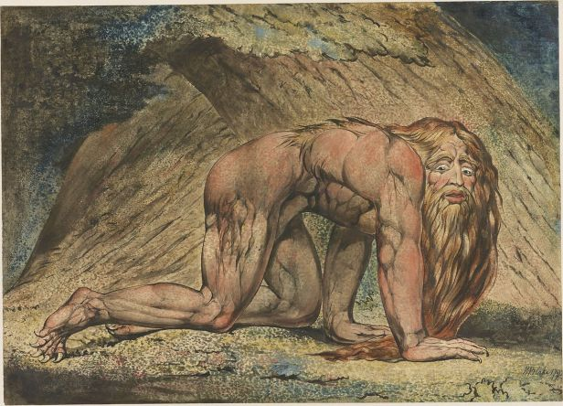 """Nebuchadnezzar,"" William Blake"