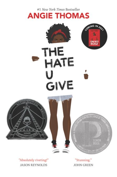 cover of *The Hate U Give*