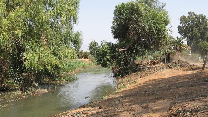 bank of Jordan River